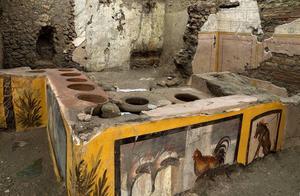 鸡鸭当广告!庞贝城挖出街头小吃摊 揭2000年前正在吃什么