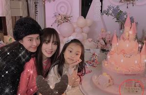 李小璐贾乃亮关系首破冰,联名为甜馨准备庆生蛋糕:爸爸妈妈爱你