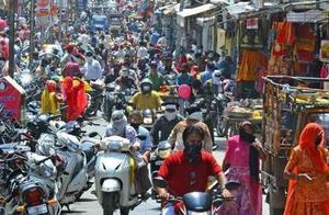 印度新冠肺炎累计确诊超804万例 单日新增近5万例