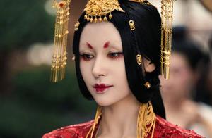王子文《晴雅集》中演公主,妆容诡异妖艳特别美,戏服华丽又贵气