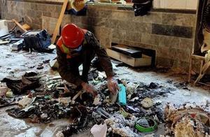 巴基斯坦一学校发生爆炸 已造成7人死亡 70人受伤