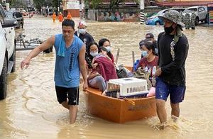 """台风""""环高""""在菲律宾已造成53人死亡22人失踪"""