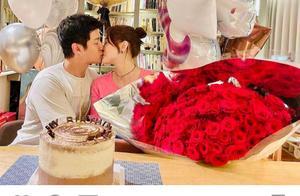 偶像剧女神陈乔恩晒照庆生,42岁似少女,获小9岁男友甜蜜献吻