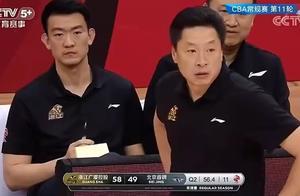 吉布森1.8秒送绝杀!北京2分终结四连败,广厦主帅罕见吃T!