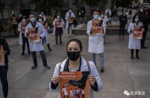西班牙新增1.8万例,入院数翻倍,医生在高压下发动全国罢工