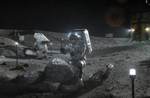 宇航员在阳光照射的月球上检测到分子水