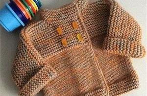 厉害了!简单几步教你织宝宝毛衣,看图就能学会