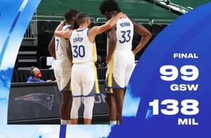 "NBA圣诞大战勇士39分败于雄鹿,赛后库里说""我们需要胜利"""