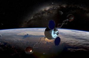 """和美军越走越近的马斯克要去太空""""扫垃圾"""",为什么我们要警惕?"""