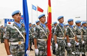 """赞!中国第5批维和步兵营全体官兵荣获联合国""""和平荣誉勋章"""""""