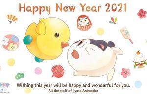 2021日本动漫官方新年贺图大赏!有你喜欢的作品吗?