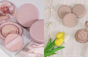妆开箱 拿在手上连指头都显白!粉嫩的玫瑰牛奶系彩妆