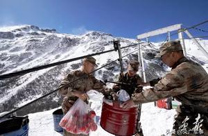 """封山期赴海拔4687米的卓拉哨所,探访这群""""顶天立地""""的兵"""
