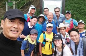 64岁发哥低调爬山跑步,智叔鲍姐在列,袁咏仪张智霖素颜现身