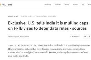 美国政府被激怒,要出狠招报复印度了