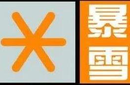 大兴安岭地区发布暴雪橙色预警