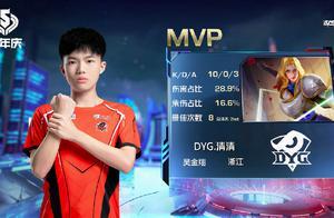 夏洛特KPL首胜!DYG清清10/0拿MVP,选出来就是乱杀