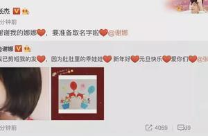 谢娜官宣二胎 网友反应竟是赵丽颖又要买锁