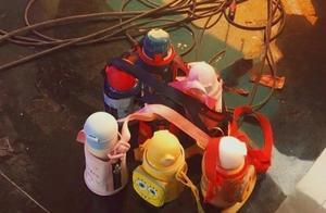 时代少年团还在用幼儿园水壶?背带缠一起有团魂,公司养孩子实锤