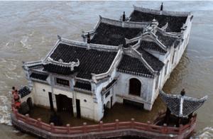 长江观音庙火了!洪水那么大为何能屹立百年不倒?专家分析出原因