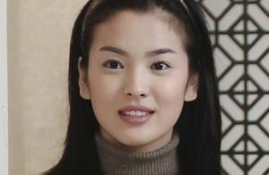 宋慧乔童年照,可可爱爱,每一位和她合作的男演员都是男神