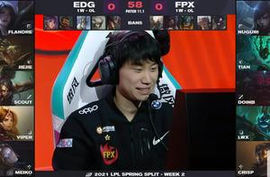 EDG版本答案击败FPX!Ning的结局就是Tian的未来?