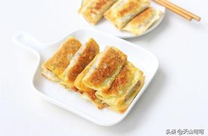 冬天,早餐这样做,不和面不早起,焦香酥脆,连吃一周都不腻