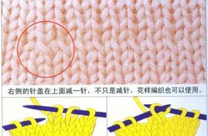 棒针22种基本织法详解,毛衣分片织法图解教程,太实用了