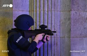 奥地利爆发恐怖袭击,凶犯用步枪扫射!进餐的无辜者纷纷中弹
