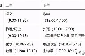 2021广东新高考2天变3天?15变45?