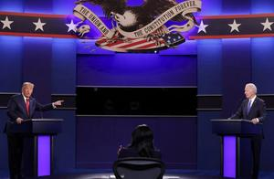 """大选收官之辩,特朗普和拜登终于捡起了""""总统包袱"""""""