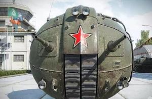 河南一厂家成功复原苏联球形坦克,网友:吓我一跳,好科幻