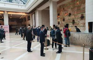 四川锦江宾馆客人已开始离开酒店