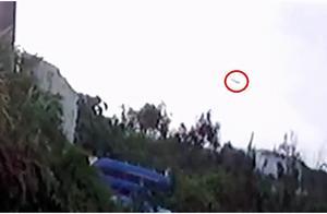 台军失事F-5E战机最后身影曝光,台媒:飞行员试图控制战机、飞很低
