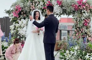朱珠结婚现场曝光,曾出演《赘婿》《大秦赋》,夫妻俩都背景强大