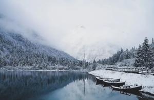 下雪啦!!浪漫白雪和绚丽彩林完美结合,简直美呆了