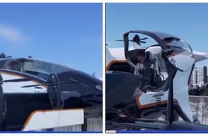 """""""打飞的""""离我们不远了 韩国首次试飞""""载人空中出租车"""""""