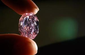 俄罗斯稀有粉红钻石 2660万美元落槌