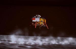 祝贺嫦娥五号成功登陆月球!第一时间传回着陆影像图,清晰可见