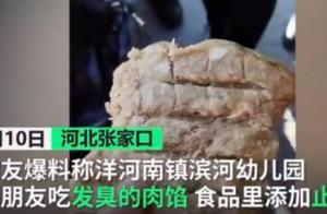 河南某幼儿园惊现发臭肉馅,为防止吃坏肚子还在肉馅里加止泻药