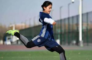 她,18岁藏族女孩,南开大学男足队长