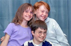 《哈利波特》众主演重聚,时隔十九年全员长残,三人组却少了赫敏