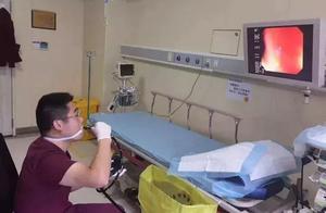超猛!浙江32岁男医生自己给自己做胃肠镜!同事:一旦失手我们顶上