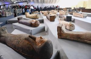 开罗发现2500年前的棺材群,是埃及今年最大的发现