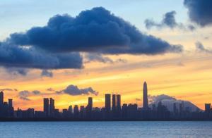 在深圳这个位置看日出,美得像一幅画