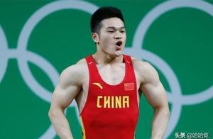 奥运冠军石智勇再显绝对实力,包揽全锦赛三金,挺举超世界纪录