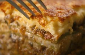 零基础做意大利素食蘑菇千层面,好吃的意大利面从零做起