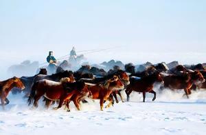 内蒙古隐藏的边境天路,赏世界级冰雪奇景,资深驴友才去过