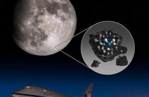 NASA新发现:首度在月球 阳光照射处发现水