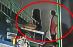 霸州一小餐桌工作人员推倒10岁女生